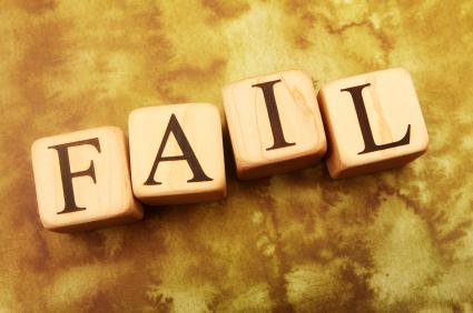 Patru motive pentru care ar trebui să dăm greș mai des