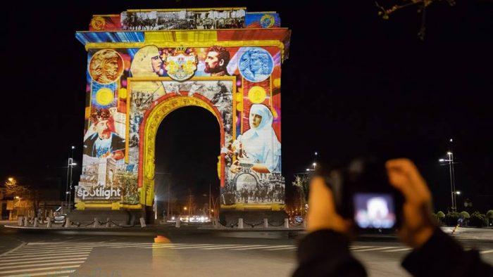 """De neratat: A început Festivalul Luminii în București. """"Punctele strategice"""" care vor străluci într-un mod aparte"""