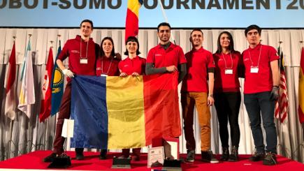 Victorie românească la turneul de sumo robotic de la Tokyo