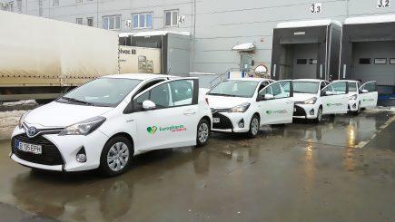 Achiziție de flotă auto nepoluantă, în valoare de un milion de euro