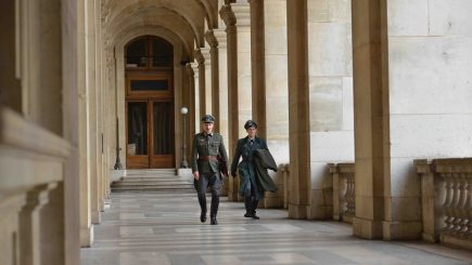 Muzeul Luvru, platou de filmare pentru regizorul rus Alexander Sokurov