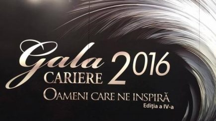 Gala CARIERE 2016: Noul val al OAMENILOR CARE NE INSPIRĂ!
