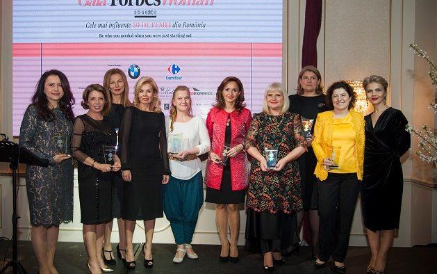 Forbes a premiat cele mai influente femei din România