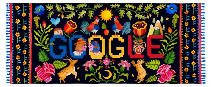 """""""O zi națională fericită, România!"""" ne urează Google"""
