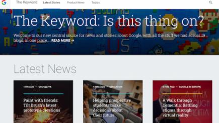 Mesaj postat pe blogul Google, în legătură cu centrele de date ale gigantului informatic
