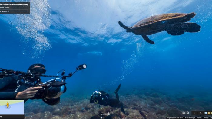 Camerele Google ajung pe fundul oceanului