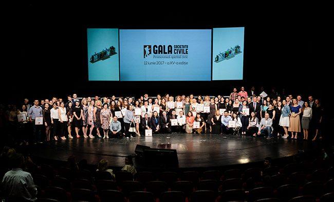 Marele Premiu Gala Societății Civile 2017 merge la Constanța