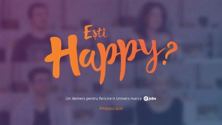Tu ești happy? Cinci pași prin care poți descoperi cum stai cu fericirea în carieră