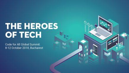 Eroii tehnologiei: Cel mai important eveniment de civic tech din lume este organizat pentru prima dată la București