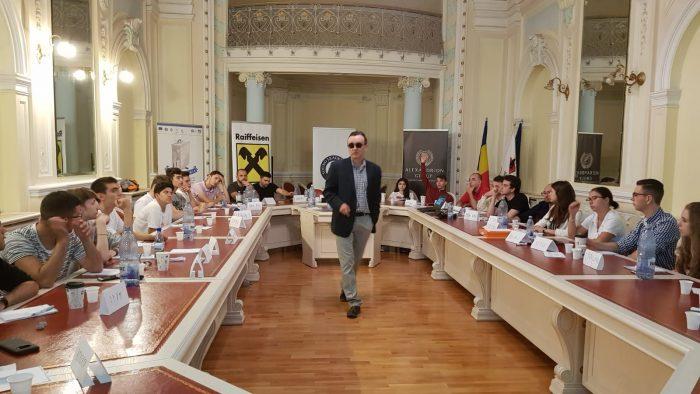 Profesori de renume și profesioniști de top la Școala de vară de la Sibiu