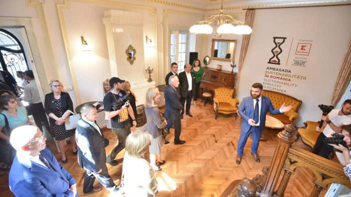 Un spațiu pentru liderii care luptă pentru o societate responsabilă în România
