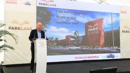 ParkLake, complexul comercial de lângă lacul Titan, mai aproape de inaugurare