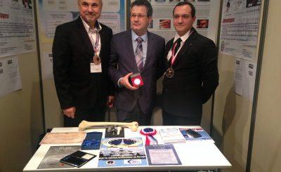 Medici de la Spitalul Militar Central au primit aur la Bruxelles pentru o invenție