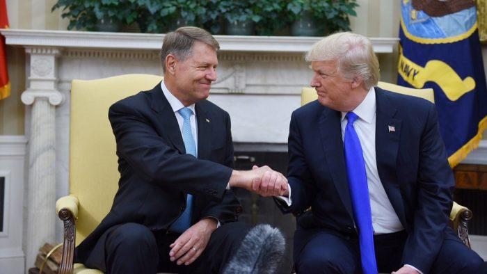 Trump: Aplaud curajul dvs de a lupta împotriva corupției. Iohannis: România are o democrație solidă grație parteneriatului cu SUA
