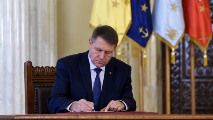 Sesizare de neconstituționalitate de la președintele Klaus Iohannis