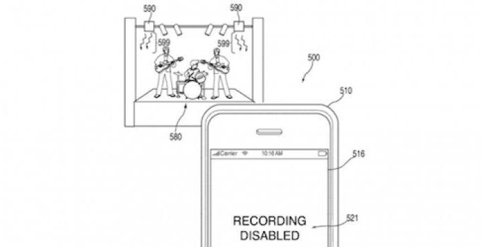 În curând, nu veţi mai putea filma concertele şi meciurile cu iPhone