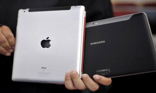 iPhone, iPad si Samsung Galaxy S,