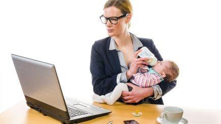 La job după concediul de maternitate