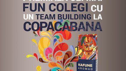 Team building la Copacabana? Cu KAFUNE? Sună FUN!