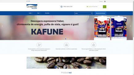 La Fântâna își deschide propriul magazin online