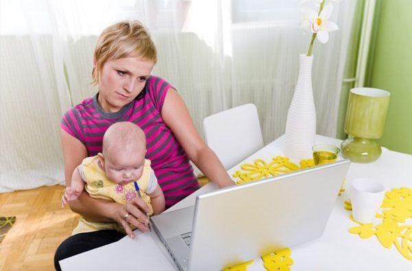 mame și de lucru de la domiciliu