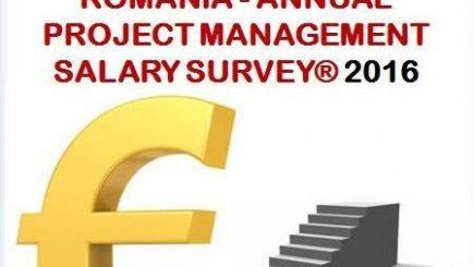 Participă la Romania – Annual Project Management Salary Survey® 2016