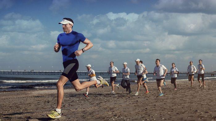 Sute de participanți la Maratonul Nisipului din Mamaia