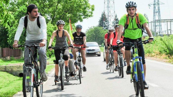 2.600 km pedalați pentru mediul înconjurător