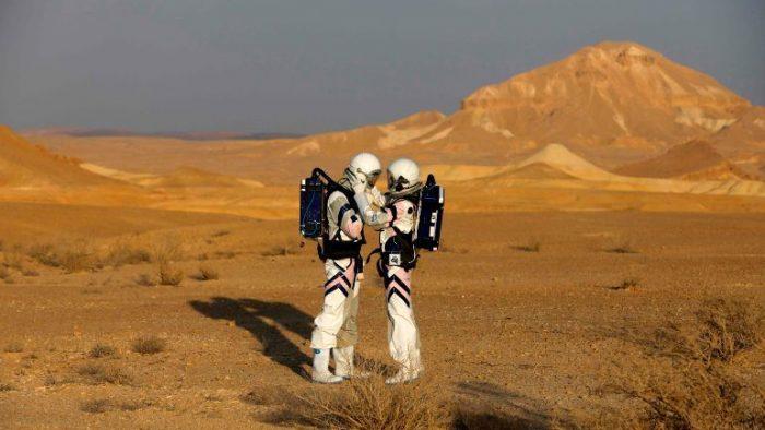 Cum e să trăiești pe Marte. Experiment de patru zile / VIDEO