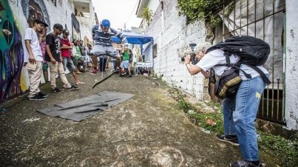 Fotografa care a schimbat cursul street art-ului în lume vine la Zilele Uriași de Pantelimon