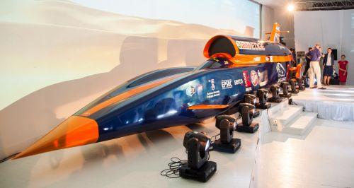 Mașina care va sparge recordul mondial de viteză, de 1.228 km/h