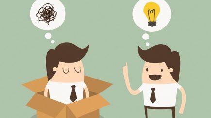 """Cum să foloseşti mai simplu şi mai pragmatic gândirea """"out of the box"""""""