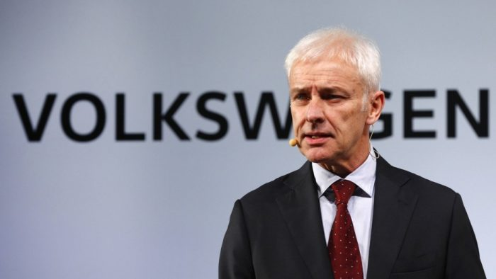 Şeful Volkswagen le-a cerut scuze americanilor