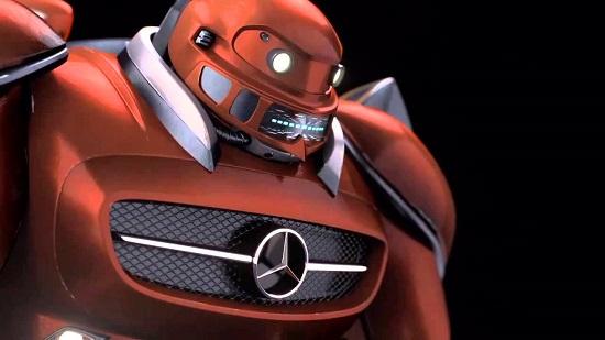 Mercedes-Benz renunță la roboții industriali