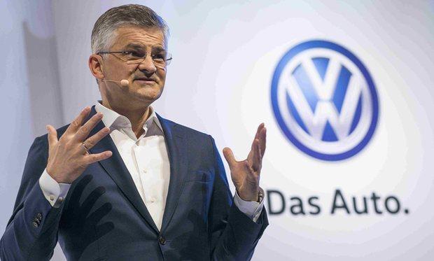 Şeful Volkswagen SUA a demisionat