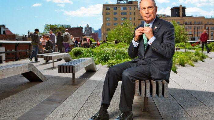 Bloomberg vrea să facă o donație de onoare