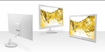 AOC lansează cel mai stilat monitor de până acum, cu design de culoare albă