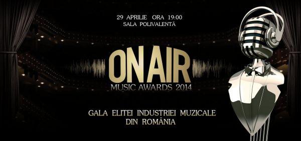 Nominalizaţii On Air Music Awards