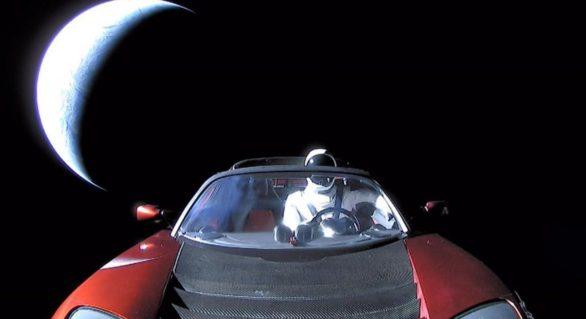 Spectaculos: Probabil ultima imagine cu mașina lui Elon Musk