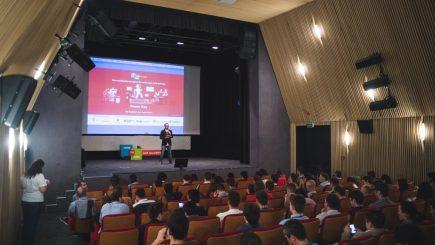 12 startup-uri cu potențial și-au prezentat produsele pe scena MVP Academy Demo Day