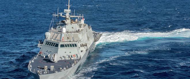 În Marea Chinei, navele americane și chineze se semnalizează reciproc