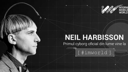 E timpul să-l cunoaștem. Primul cyborg vine la București la IMWorld 2017