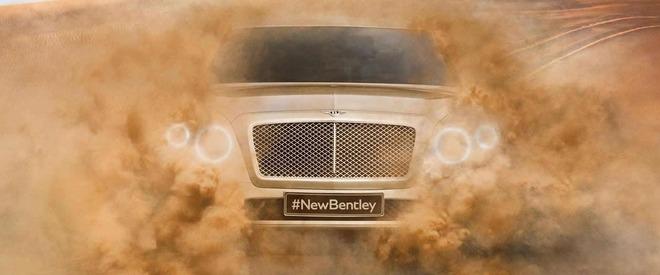 Cel mai rapid SUV de serie va fi un produs Bentley: 320 km/h
