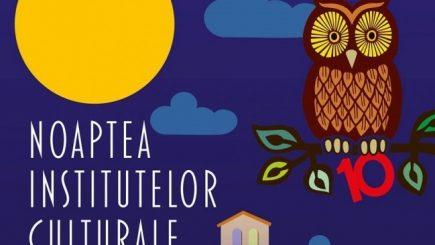 Noaptea Institutelor Culturale, ediția 2016