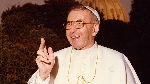 Sărbătoritul zilei: Papa Ioan Paul I, cel care zâmbea întotdeauna