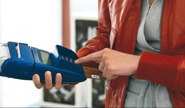 Poți plăti oriunde cu cardul. Numai la bancă nu