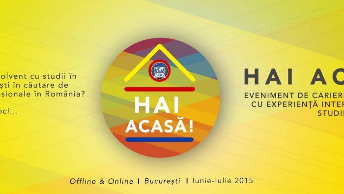 Hai Acasă! Oportunităţi de carieră pentru studenţii români din străinătate