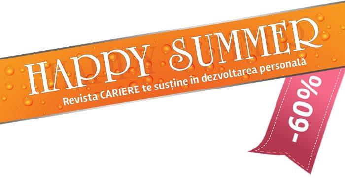 Câştigătorii campaniei de abonare HAPPY SUMMER