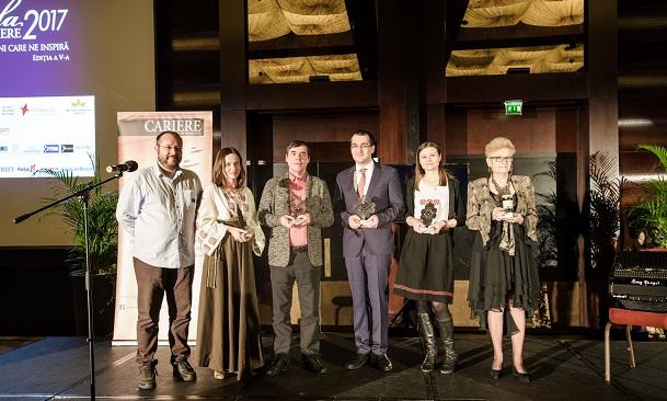 Gala Premiilor Revistei CARIERE a premiat români care excelează în antreprenoriat, leadership, cultură și inovație