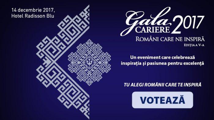 Gala Premiilor Revistei CARIERE premiază români care excelează în antreprenoriat, leadership, cultură și inovație